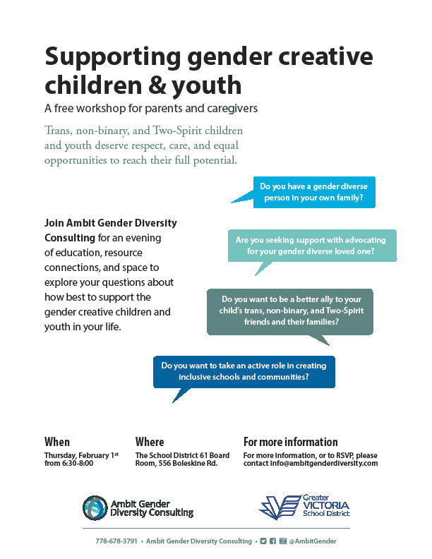 Supporting gender creative children and youth
